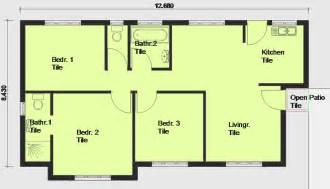 Free Floor Plans House Plans Building Plans And Free House Plans Floor Plans From South Africa Plan Of The