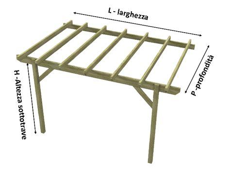 pendenza tettoia in legno tettoia in legno copertura in legno easy addossata con