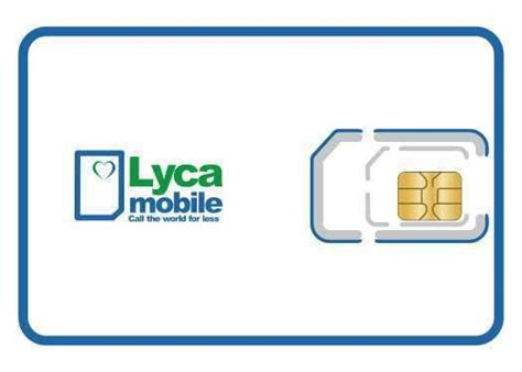 lycamobile mobile lyca mobile pay as you go sim card