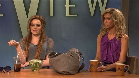 watch the view lindsay lohan from saturday night live