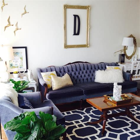 Navy And White Chair Design Ideas Cool Your Design With Blue Velvet Furniture Hgtv S Decorating Design Hgtv