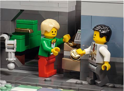 Banc Lego by Lego Modular Bank Laundromat For January 2016 Release Set