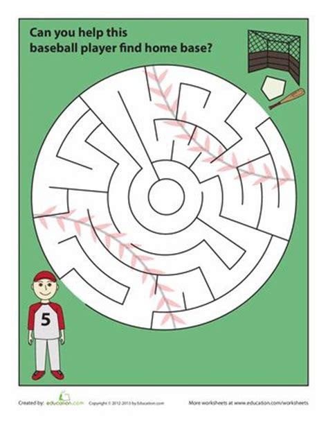 free printable math baseball worksheets baseball math worksheets baseball color by number