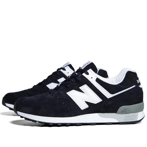 m576dnw new balance mens shoes white navy suede id 20552