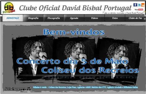 el club dumas o clube dumas web oficial de arturo p 233 rez reverte bisbal fan club quot novo site clube de f 227 s oficial portugal a uni 227 o faz a for 231 a quot 100x100 bisbal