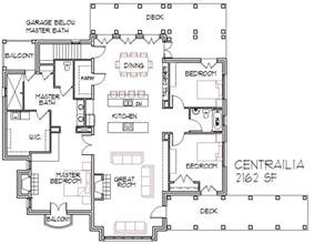 Floorplans by Open Floor Plan House 2016 Cottage House Plans