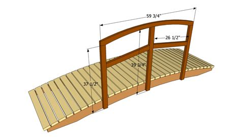 small bridge plans garden bridge plans smalltowndjs com