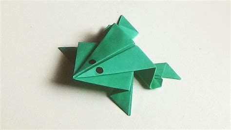 How To Make A Dollar Origami Frog - origami magnificent origami frog origami frog steps