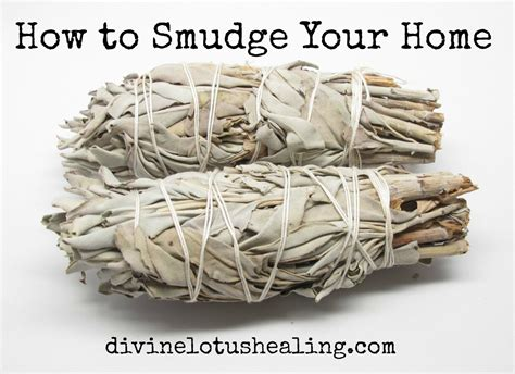 How To Smudge Your Home