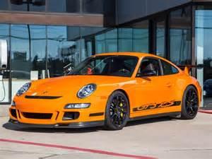 Orange Porsche Gt3 Rs 2007 Orange Porsche Gt3 Rs Cars For Sale