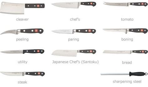 basic kitchen knives pin by gerlack on recipes