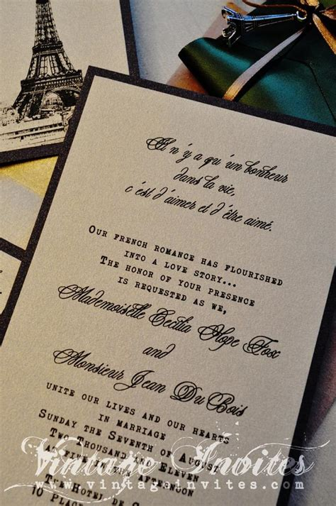 Wedding Invitations Cities by Vintage Wedding Vintage Invites Wedding