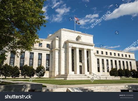 us bank federal united states federal reserve bank building stock photo