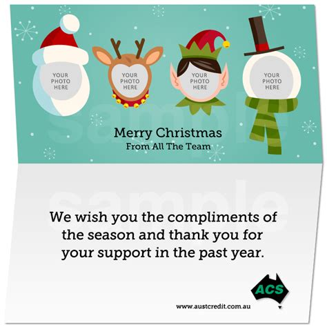Business Email Christmas Card Template E Cards Tehoto Sle Templates Station Email Card Template