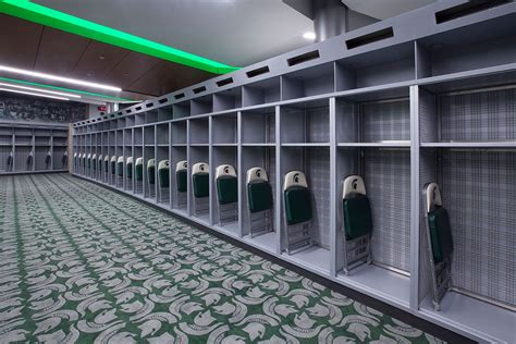 michigan state rooms michigan state locker room banker wire project