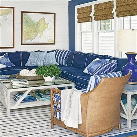 navy couch white piping 27 best images about navy blue indigo and white home decor