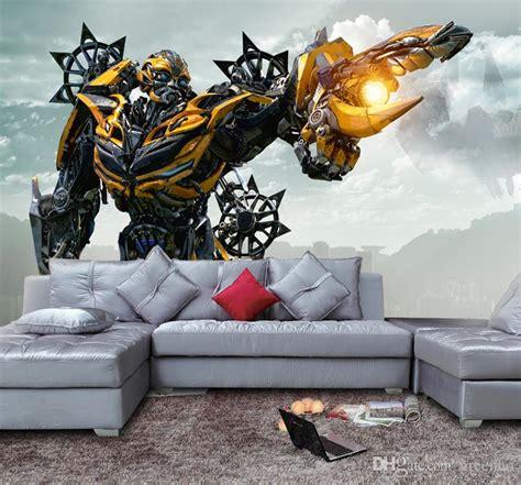 transformers theme boys room wall murals my son would bumblebee wallpaper 3d transformers photo wallpaper custom