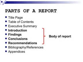 Business Letters And Reports Ppt Report Writing Introduction Section