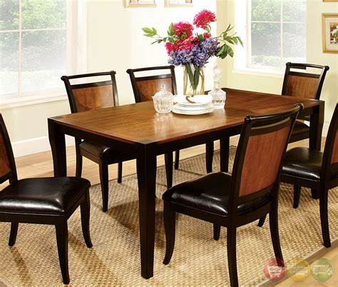 Casual Dining Sets Salida I Acacia And Black Casual Dining Set With Padded
