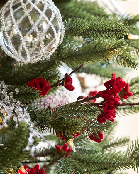 blossom hill christmas trees white and sparkle tree tree decorating ideas