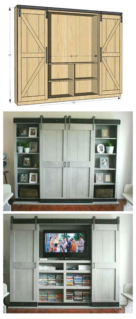 diy tv armoire best 25 diy barn door ideas on pinterest sliding doors