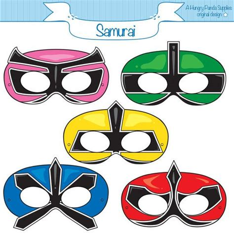 Power Ranger Mask Printable