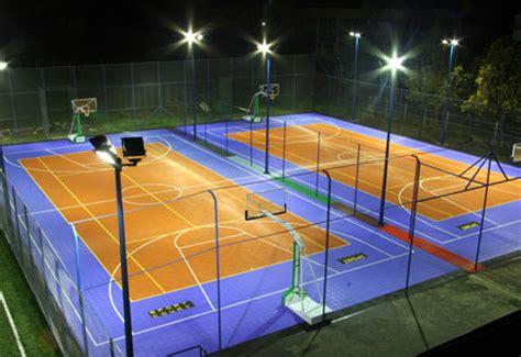 Outdoor Basketball Lighting Lighting Sportcourtbc