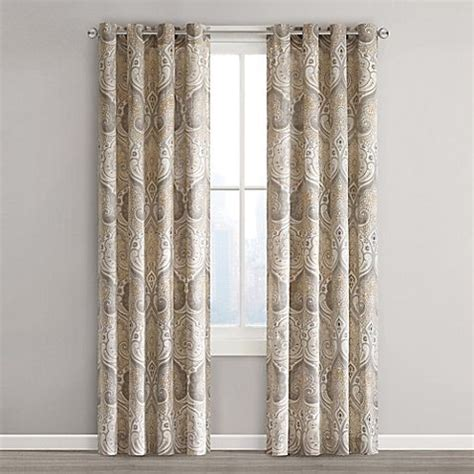 Echo Design Curtains Echo Design Jaipur Grommet Top Window Curtain Panel Cabral Area Jaipur