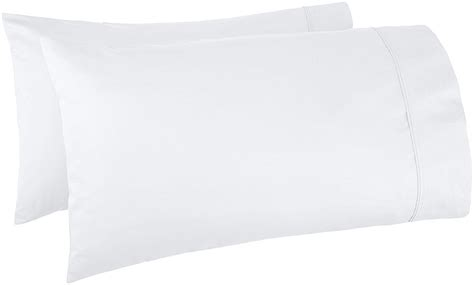 pillow casses amazonbasics 400 thread count pillow cases