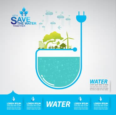 Save water free vector download (2,889 Free vector) for