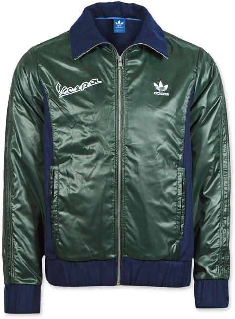 adidas vespa jacket adidas vespa europa tt jacket dark indigo deep green