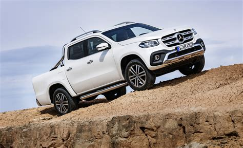 mercedes pickup 2017 2018 mercedes x pickup truck off road the fast lane truck