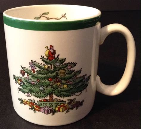 spode christmas tree candy cane handle mugs tree 14 splendi spode tree mugs spode tree