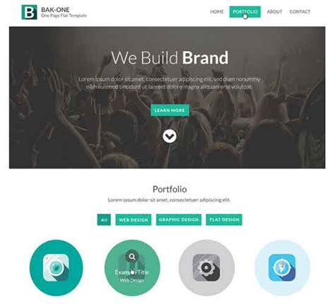 flat psd template 50 best free psd website templates 2017 freshdesignweb