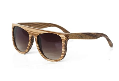Kacamata Kayu Wooden Sunglasses Recycle proof wood sunglasses