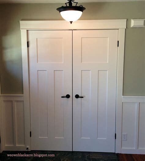 Closet Doors by We Own Blackacre Before And After Replacing Bi Fold