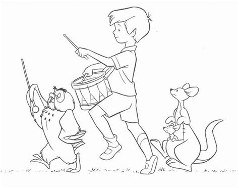 Coloring Pages Of Christopher Robin | christopher robin coloring pages az coloring pages