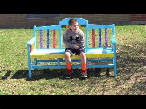 buddy bench video 17 best images about buddy bench on pinterest traditional student and a video