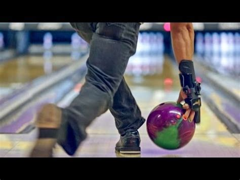 bowling arm swing and release slow motion bowling release league 01 22 2014 youtube