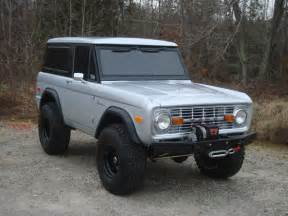 early bronco on