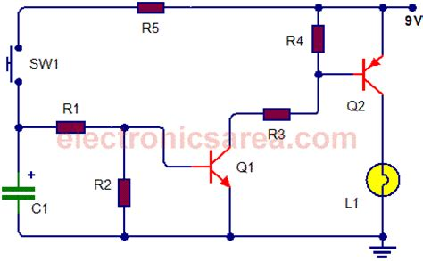 add timer to light switch on switch circuit a 555 timer electronics area