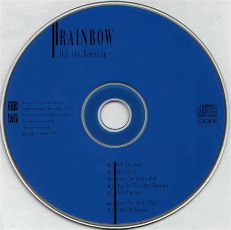 Page The Rainbow Cd tapio s ronnie dio pages rainbow cd bootleg discography february 1975 november 1978