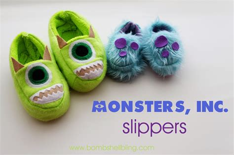 monsters inc slippers monsters inc slippers