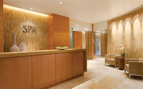 Interior Home Designs by Bilkey Llinas Design Four Seasons Denver Spa Reception