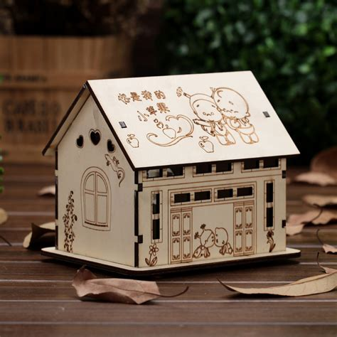 bank now casa new arrival wood house money boxes wooden piggy bank
