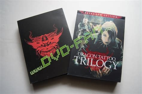 dragon tattoo trilogy trilogy extended edition