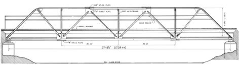 free layout plans warren truss bridge range line road antigo wisconsin