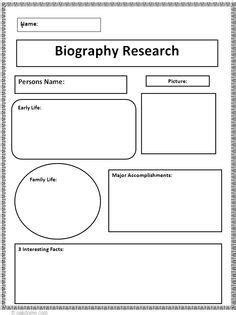 biography exle research biography research graphic organizer 1865 present