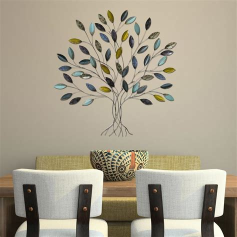 tree decor for home stratton home decor tree wall decor shd0128 the home depot
