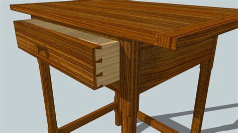 sketchup furniture plans woodwork woodworking sketchup pdf plans